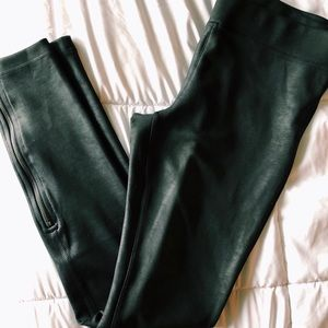 Free People Vegan Leather Leggings NWOT